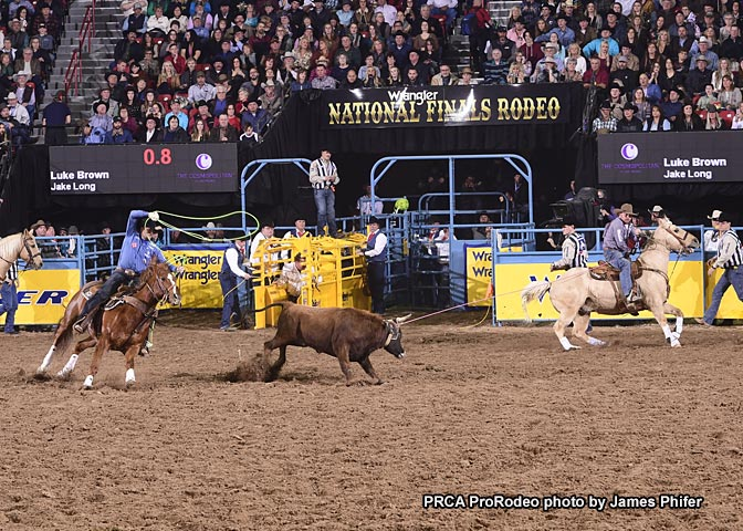 Prca World Standings After Seven Rounds At The Nfr The