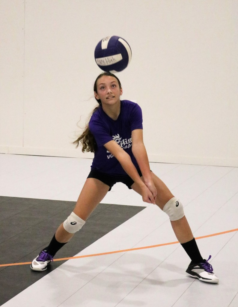 Photos Skyhigh Volleyball Tryouts The Flash Today Erath County