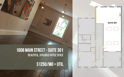 Available for Rent: 1008 Main Street, Suite 301