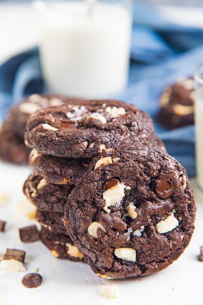 Resep Choco Chip : resep, choco, Ultimate, Double, Chocolate, Cookies, Flavor, Bender