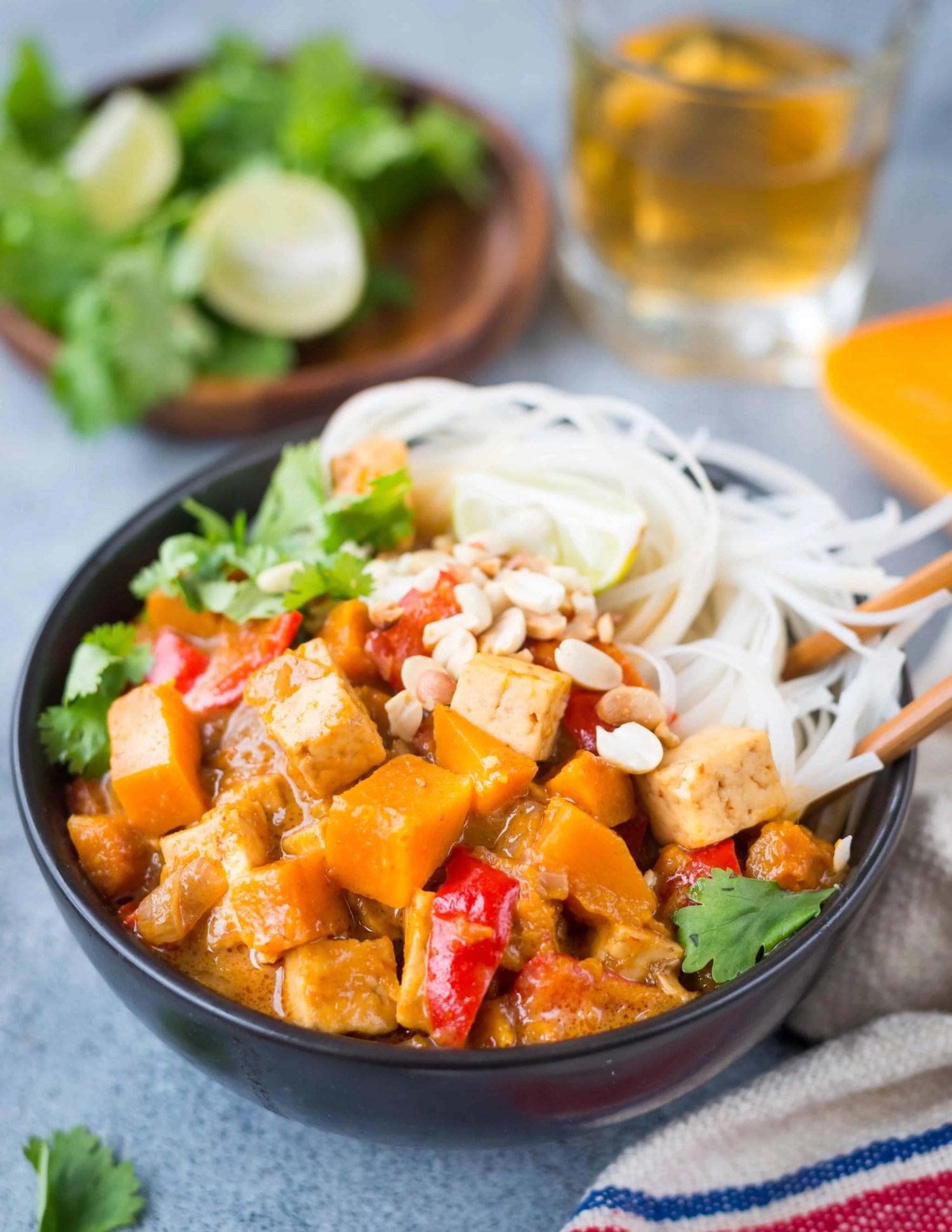 Vegan Thai Pumpkin Curry