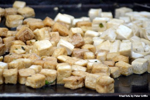 Tofu (8g of protein for 100g)