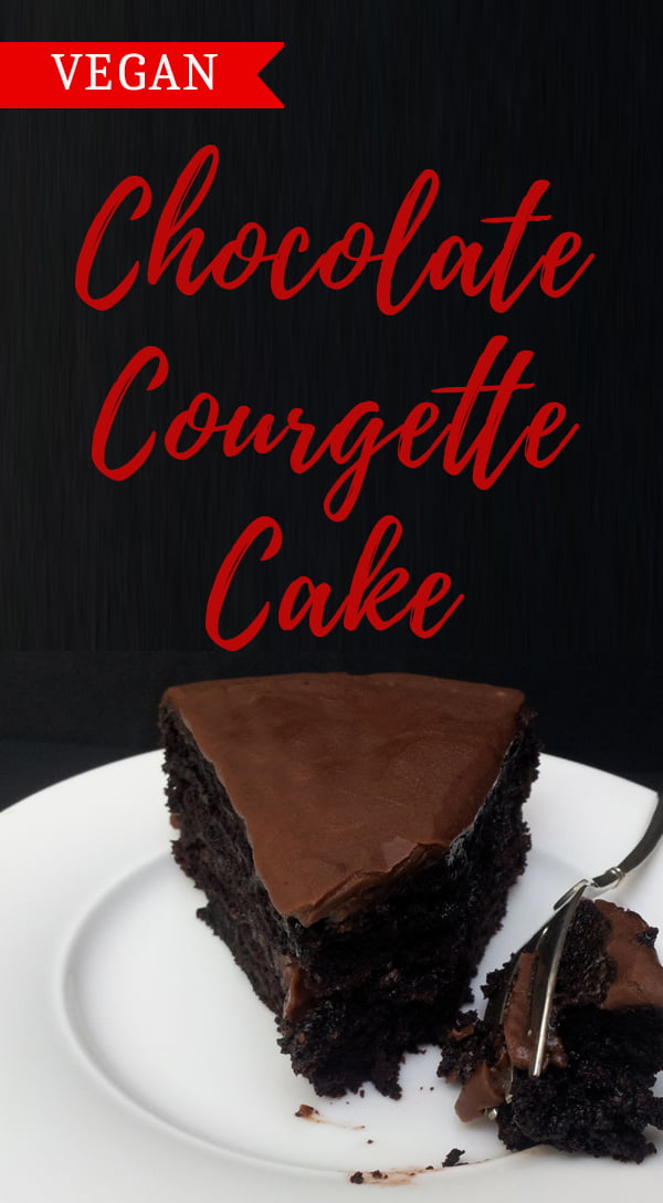 Chocolate Courgette Cake [vegan] by The Flexitarian