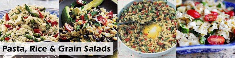 65 Recipes Barbecue Pasta, Rice Grain Salads
