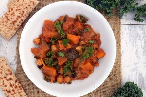 Aubergine, Sweet Potato and Kale Curry [vegan] by The Flexitarian