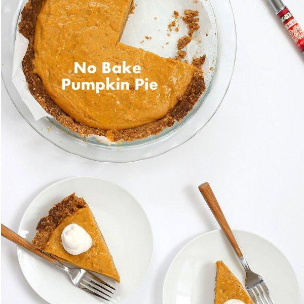 No Bake Pumpkin Pie [vegan] by Vegan Richa