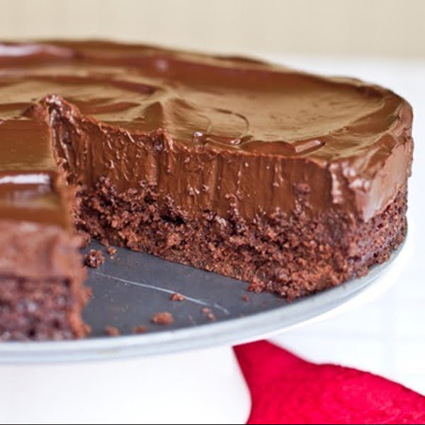 Chilled Double Chocolate Torte: The No-Bake Version [vegan] by Oh She Glows