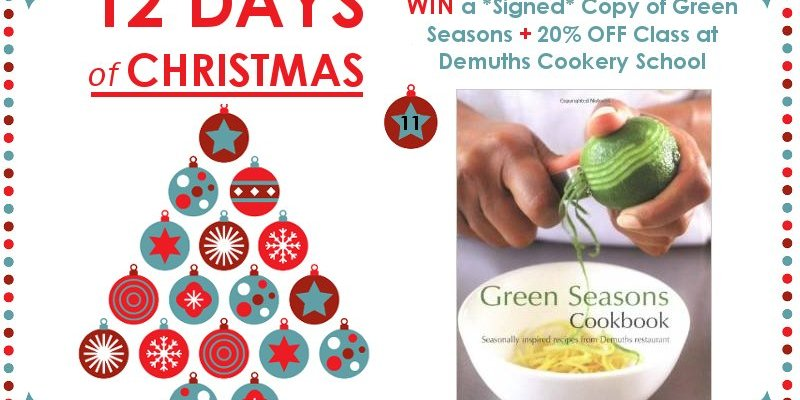 12 DAYS OF CHRISTMAS COMPETITION - Demuths