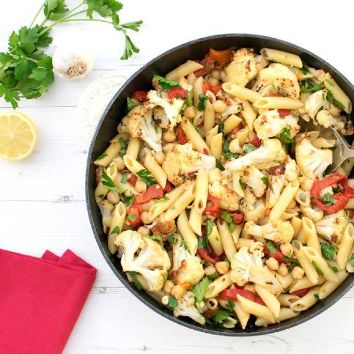 Chipotle Cauliflower Penne [vegan] by The Flexitarian