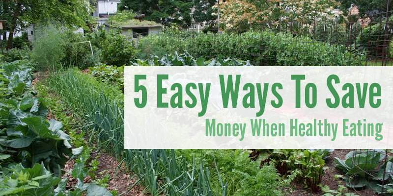 5 Easy Ways To Save Money When Healthy Eating