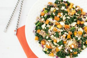 Autumn Spelt Salad [vegan]