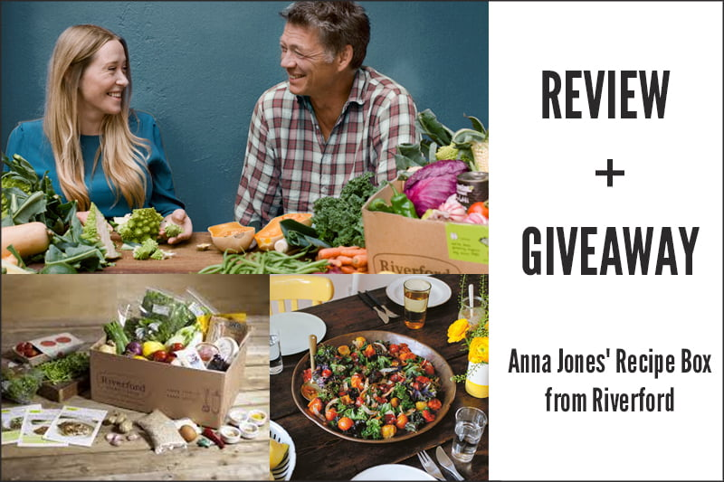 REVIEW GIVEAWAY Anna Jones Recipe Box from Riverford