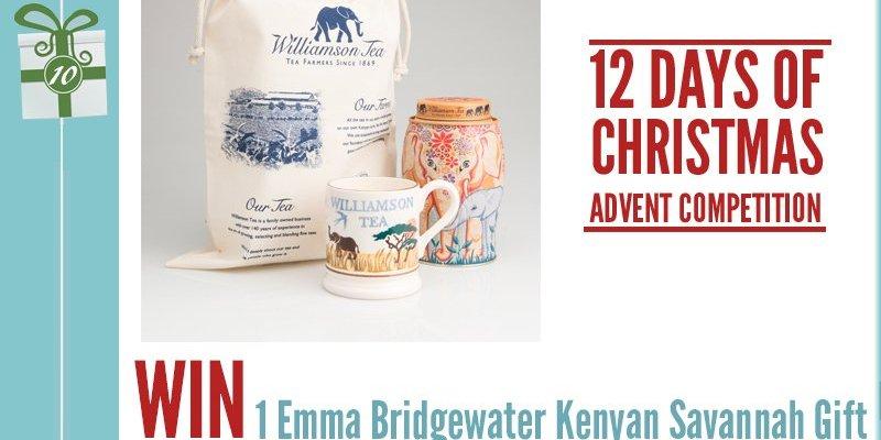 Advent Competition Day 10 – WIN 1 Emma Bridgewater's Kenyan Savannah Gift Set from Williamson Tea worth £30