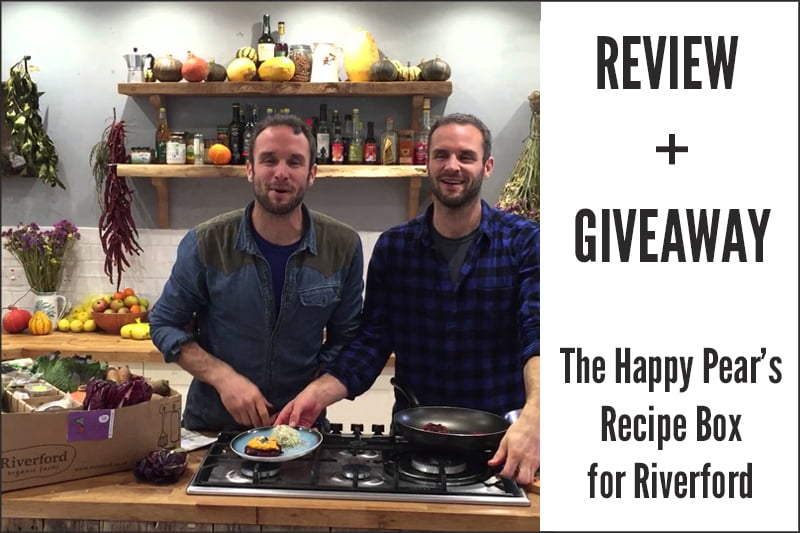 REVIEW GIVEAWAY The Happy Pear Recipe Box for Riverford