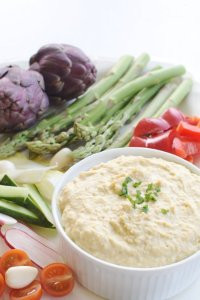 Basic Hummus with or without Tahini [vegan] [gluten free] by The Flexitarian