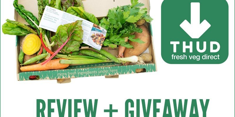 THUD's Recipe Box Review  + Giveaway