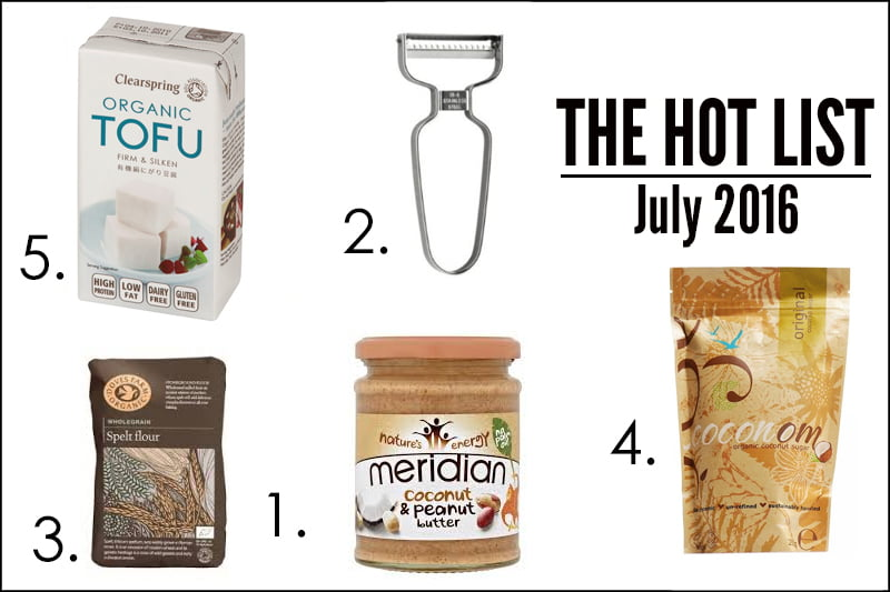 The Hot List - July 2016