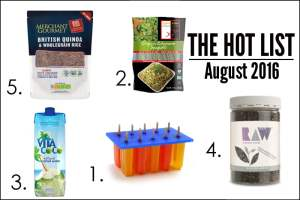 The Hot List - August 2016