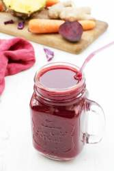 Cleansing Purple Juice [vegan] [gluten free] by The Flexitarian