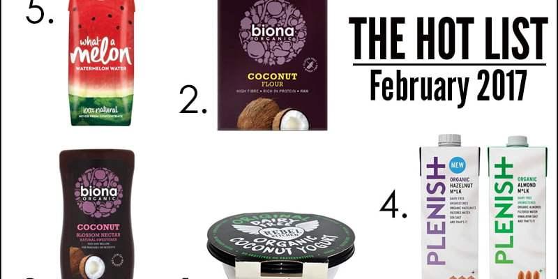 The Hot List - February 2017