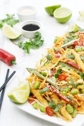 Low Carb Asian Sweet Potato Noodles [vegan] [gluten free] by The Flexitarian