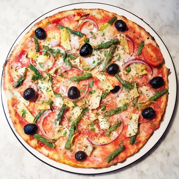 Vegan Pizza Pizza Express Giardiniera v6