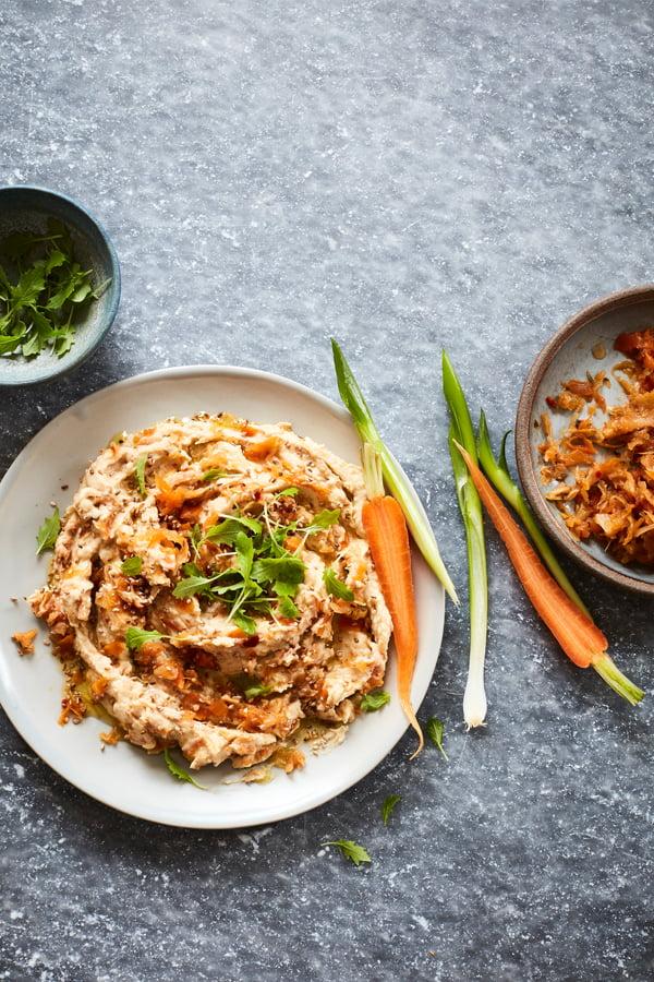 Fermented Foods Hummus [vegan] by Dunja Gulin by Dunja Gulin