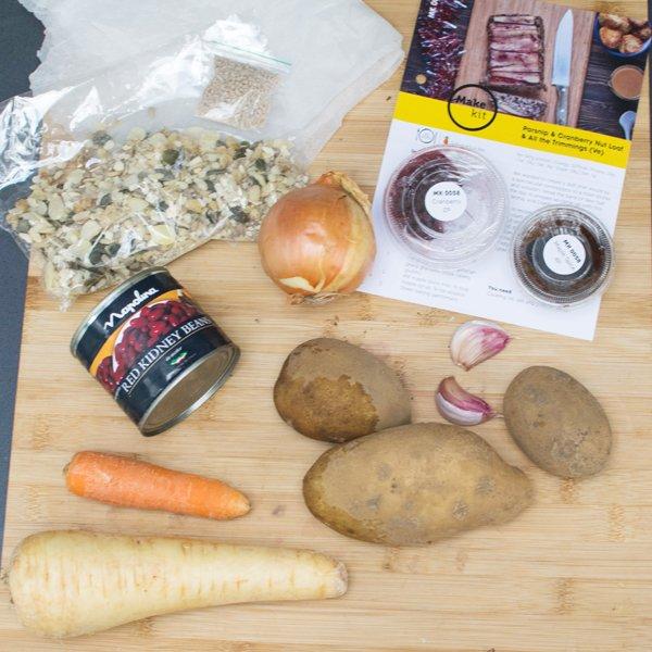 Make Kit Nut Loaf Ingredients