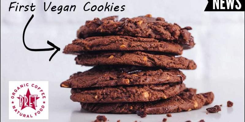 Pret A Manger vegan cookies April 2018