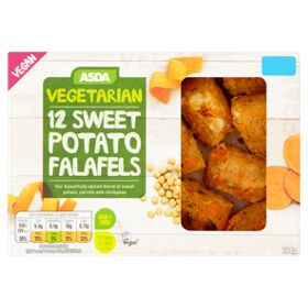 Asda Vegetarian & Vegan 12 Sweet Potato Falafels