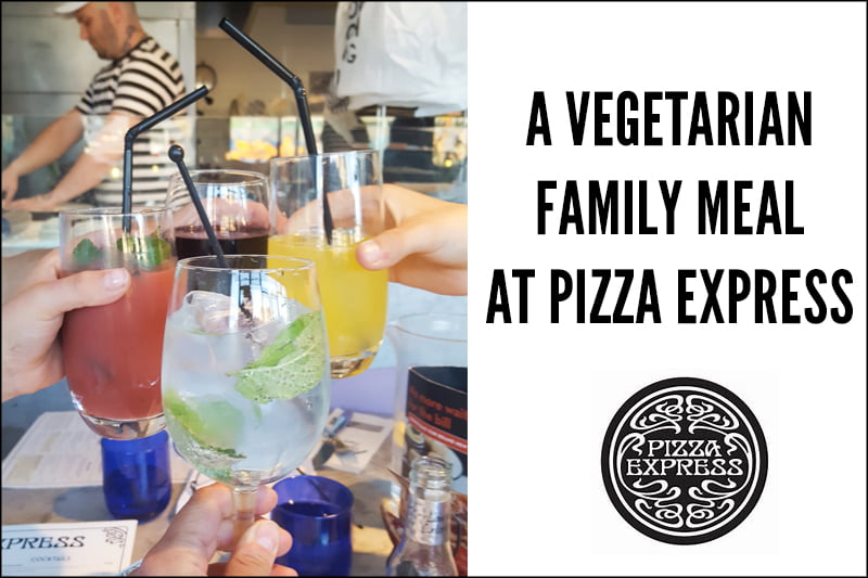 A Vegetarian Family Meal at Pizza Express