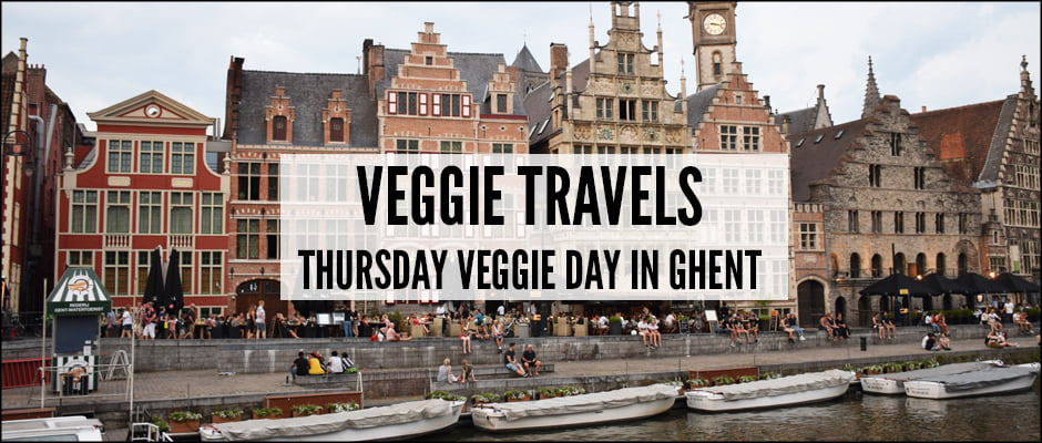 Veggie Travels : Thursday Veggie Day in Ghent