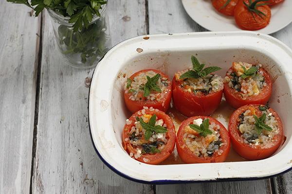 Slendier Konjac Greek Stuffed Tomato