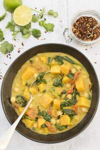 Butternut Squash And Chickpea Curry [vegan] [gluten free] by The Flexitarian
