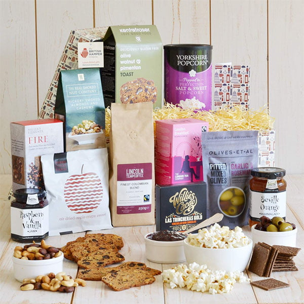 Gourmet Vegan Hamper - British Artisan Food Gift Hamper