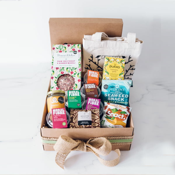 The Moral Fibre Happy Healthy Vegan Hamper