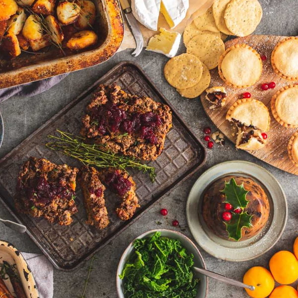 WIN A Vegetarian Christmas Dinner Box from Riverford