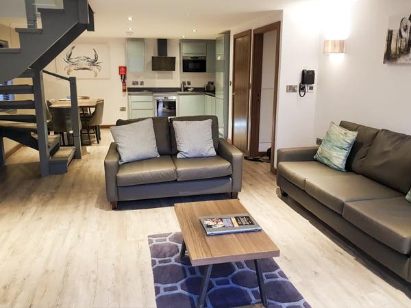 Beyond Escapes Devon Living Room