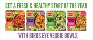Birds Eye Veggie Bowls . Review by The Flexitarian