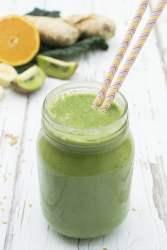 Green Winter Smoothie [vegan] | The Flexitarian