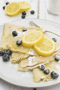 Easy Vegan Crepes by The Flexitarian