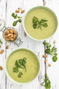 Leek, Potato and Watercress Soup [vegan] by The Flexitarian gan] by The Flexitarian - Le Flexitarien Annabelle Randles ©