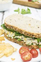 Vegan Tuna Sandwich - The Flexitarian