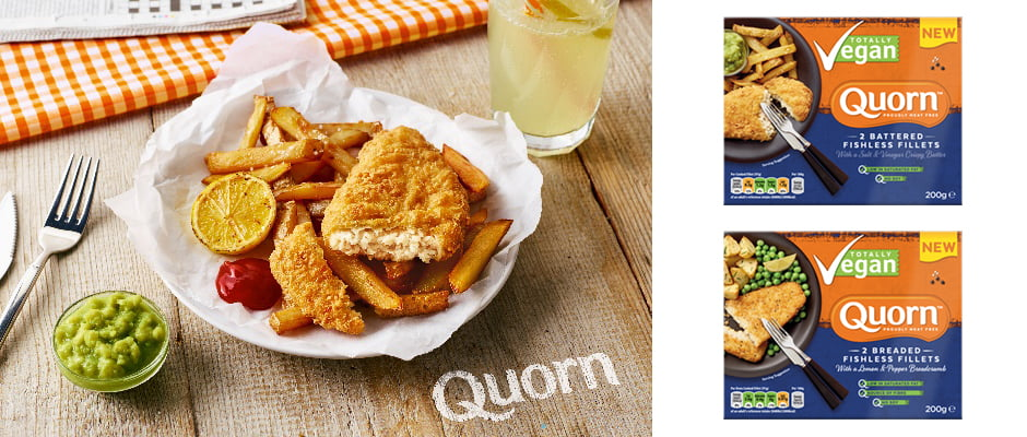 Quorn launches Vegan Fishless Fillets range v2