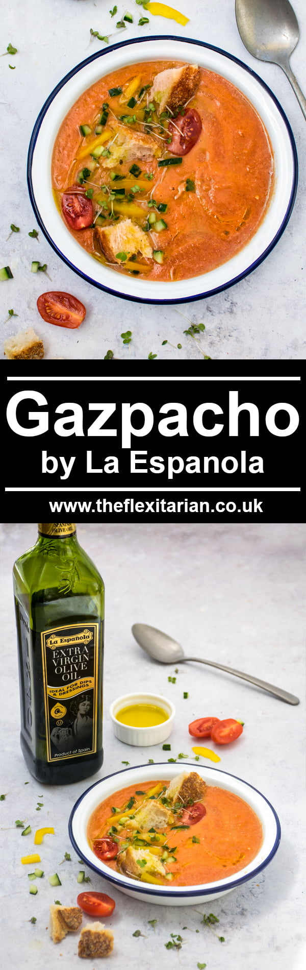 Easy Gazpacho by La Espanola Picture © Annabelle Randles | The Flexi