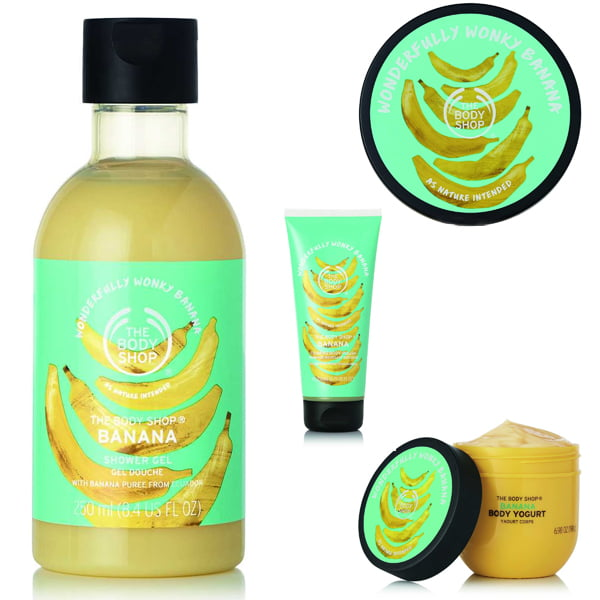 The Body Shop Wonky Vegs Bananas