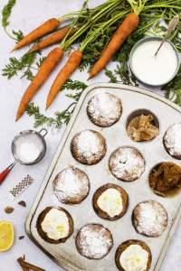 Vegan Carrot Muffins - The Flexitarian
