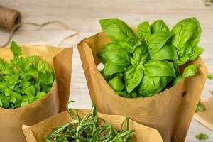 Asda herbs go plastic-free