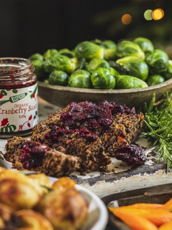 WIN Vegan Christmas Dinner Box from Riverford
