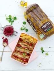 Beetroot Hummus Sandwich 2020 © Annabelle Randles   The Flexitarian